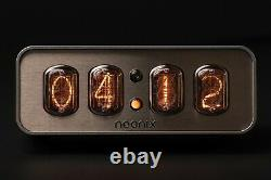 Nixie Tube Clock NEONIX 412 with customizable front panel