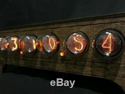 Nixie Tube Clock Pulsar IN-1 6-tubes