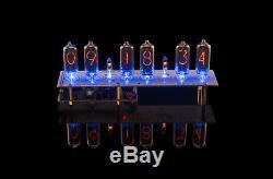 Nixie Tubes Clock N-8-2 DIY KIT PCBs+ALL Parts, Divergence Meter Mini WITH TUBES