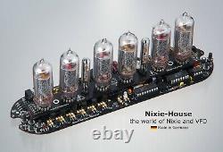 Nixie Uhr, Nixie IN 14, Nixie clock, Nixie tube, made in germany