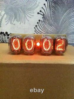 Nixie tube clock IN-12 Yellow cuckoo clock cuckoo clock parts cool gift