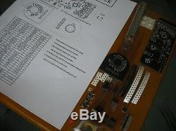 Nixie tube clock IV-18 VFD vintage desk clock KIT