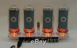Nixie tube clock (assembled kit) 2.3 witch IN-18 tube RGB backligh