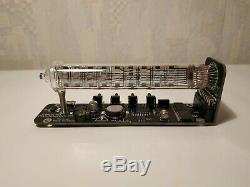 Nixie tube clock assembled vintage tube desk watch IV-18 Ice tube clock Adafruit