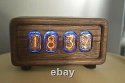 Nixie tube clock in the case of solid wood, Nixie tube IN-12