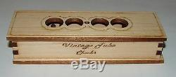 Nixie tube clock kit 2.3 with IN-14 Tubes in wood box with DIY alder wood case