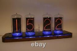 Nixie tube clock with biggest RFT tubes Z568M very big and nice look tubes