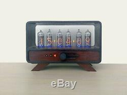 Nixie tube clock with six IN-14 tubes