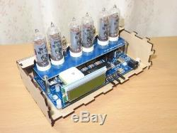 Rare Item Nixie tube timepiece Clock with GPS From JAPAN Free shipping