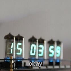 Retro Desk 6×IV-11(-11) Nixie Tubes Clock DIY VFD Display KIT Assembly Gift