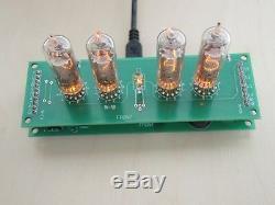 Retro Nixie Tube Clock IN-16 DIY KIT ALL PARTS PCB YELLOW FULL SET