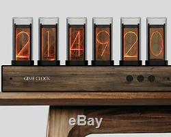 Retro Nixie Tube Inspired GIXIE CLOCK Electronic 6-Digit 5V USB Pre-Assembled