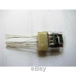 Russian Nixie tubes IN-17 for clock watch. Lot of 500 NEW in factory boxes