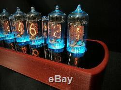 The Genesis 6 Tube Nixie Clock from Bad Dog Designs Handmade in the UK