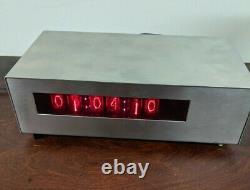USA Made Digital NIXIE TUBE CLOCK Divergence Meter SteinsGate ZM1000 Amperex