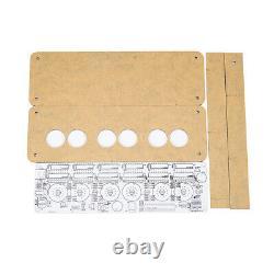Vintage IV-11(-11) VFD Alarm Clock DIY Kit Nixie Tube Era Display IR Remote