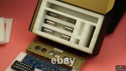 Vintage IV-11 VFD Nixie Tube Clock DIY KIT. Wooden case. Father Dad son bf Gift