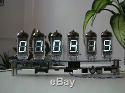 WiFi NTP time sync IV11 VFD tubes (Nixie era) alarm clock thermometer kit