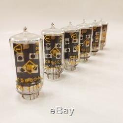 Z5660m 6 pcs RFT New NIXIE TUBES for clock z566 Germany Tested Working NOS