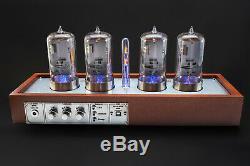 Z568 Arduino Shield Nixie Tubes Clock Wooden Case EXTRA LARGE 4 TUBES OPTIONAL