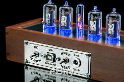 Z573 White Tubes Clock, Musical, USB, RGB, Arduino, Divergence Meter GRA&AFCH