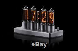 ZIN18 IN-18 Nixie Tube Clock Classic Silver Aluminium Case WIFI Android/Iphone