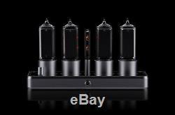 ZIN18 IN-18 Nixie Tube Clock Silver Aluminium Case WIFI Android/Iphone Setup