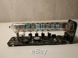 100% Assemblees Horloge Tube De Glace Iv-18 Vfd Tube Nixie Adafruit Cadeaux Vintage D'horloge
