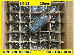 25 X 18 Nouveaute-nixie Pour L'horloge Tuyaux Teste Bricolage Usine Box 25pcs