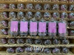 6 X Iv-13 Numitron Filament Nixie Vfd Tubes Pour L'horloge De Bricolage -13 Rare