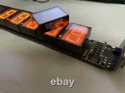 6pcs Pinlite-dip-1051l Numitron Affichage Tube Nixie Nouveau Pour L'horloge Diy