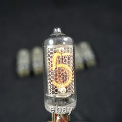 6x In-8 Tubes Nixie Indicateurs Urss Pour L'horloge De Bricolage Nos