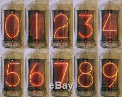 6x Teste Rft Z568m Z5680m + Douilles Nixie Indicateur Clock Tubes B-7037 Nl-7037