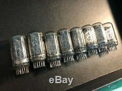 8 Pcs Nl5441a Tube Nixie Rare La Porte Du Compteur De Divergence D'horloge De Nixie