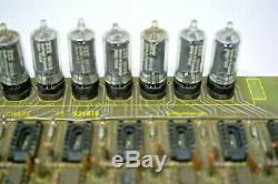 9 X Utilises Itt 5870 + Tube Pour Nixie Sockets Clock! Teste