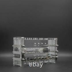 Adafruit Ice Tube Iv-18 Vfd Nixie Bureau Horloge Assemblé Steampunk Testé Thème