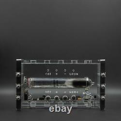 Adafruit Ice Tube Iv-18 Vfd Nixie Desk Clock Assembled Tested Steampunk Theme