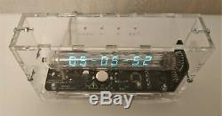 Adafruit Tube De Glace Horloge Vfd Iv-18 Horloge De Bureau Steampunk Tubes D'horloge De Cru Nixie
