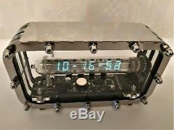 Adafruit Tube Glace Horloge Vfd Iv-18 Bureau Décoration Horloge Tube Nixie Vintage Horloge