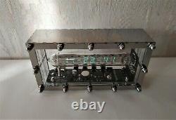 Assembled Ice Tube Horloge Iv-18 Vfd Nixie Steampunk Adafruit Horloge Home Décor Art