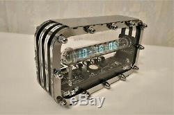 Assemblees Horloge Tube De Glace Iv-18 Vfd Nixie Steampunk Décor Horloge Adafruit Art