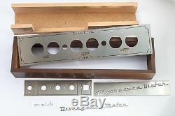 Boîte En Bois Pour Nixie Horloge Divergence Mètre Tubes In-18 Ou Z5660, Zm1040 / 42