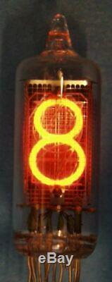 Cd81 Japon Hitachi Nixie Indicateur Röhre Tube Clock Diy Ultrarare 16pcs