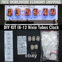 Cuisine Diy In-12 Nixie Tube Horloge Avec Support Acrylique Avec Tubes Livraison Gratuite