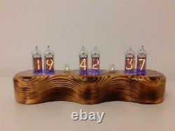 Dacian Nixie Clock Uhr In14 Tubes Rgb Led Par Monjibox
