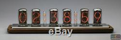 De Plus Omnixie Horloge Nixie, Le Temps De Synchronisation Wifi, Caisse En Bois, Installation Via Iphone Android