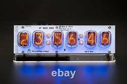 Diy Kit In-12 Nixie Tubes Clock With Acrylic Stand With Options Livraison Gratuite