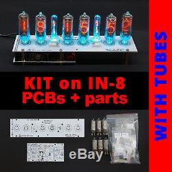 Diy Kit Pour Nixie Tubes Horloges-8 Sokets