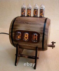 Double Affichage Combo Nixie Horloge Thermomètre Hygromètre In12 In14 Tubes Monjibox