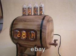 Dual Display Combo Horloge Thermomètre Hygromètre Nixie Horloge Avec In12 In14 Tubes